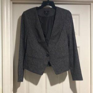 Heathered brown blazer